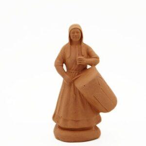 Femme au tambourin