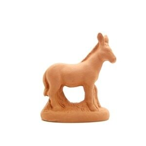 L'âne debout