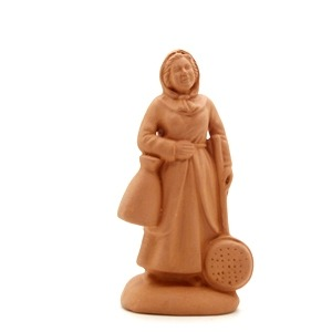 Femme Bassinoire santon