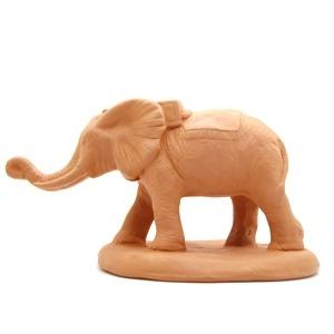 Santon de Provence à peindre éléphant 7 cm