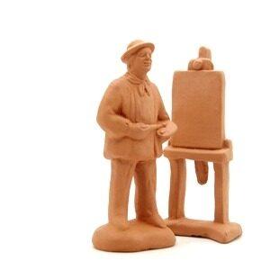 Le peintre et son chevalet