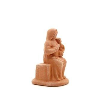 santon de provence la vierge à l'enfant