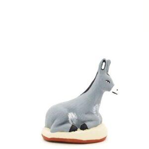 santon provence âne peint à la main