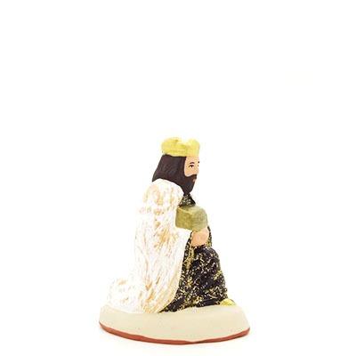 santon de provence melchior peint à la main profil