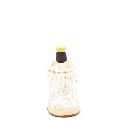 santon de provence melchior peint à la main dos