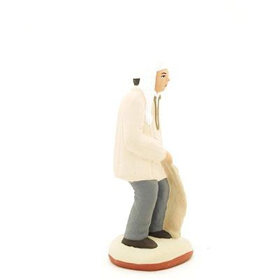 santon de provence peint à la main profil