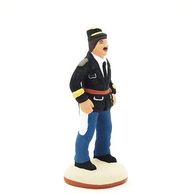 santon-peint-gendarme profil