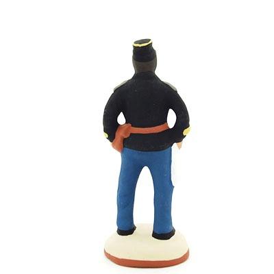 santon-peint-gendarme dos