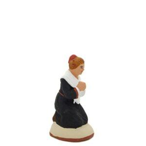 santon de provence peint à la main prieuse