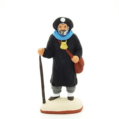 santon de provence peint à la main pelerin saint jacques de compostelle