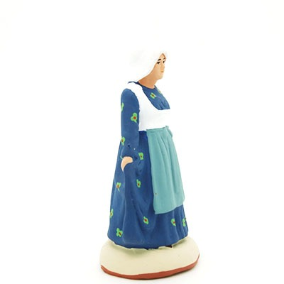santon de provence la lorraine peint à la main profil