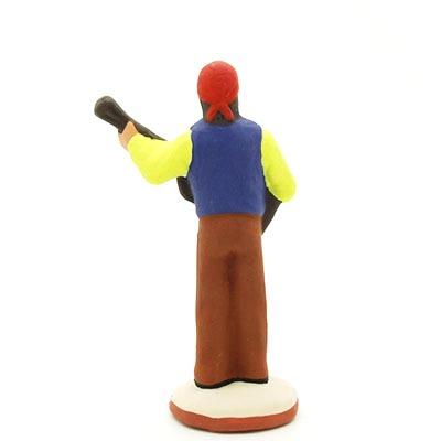 santon de provence peint à la main gitan dos