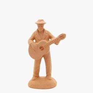 santon à peindre Homme à la guitare