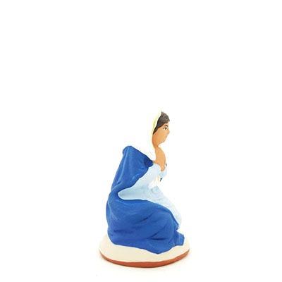 santon de provence marie peint à la main profil