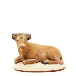 Santon de Provence peint à la main bœuf nouveauté 2017