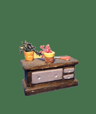 Etal fleuriste