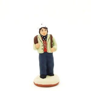 santon de provence peint à la main petit ramoneur