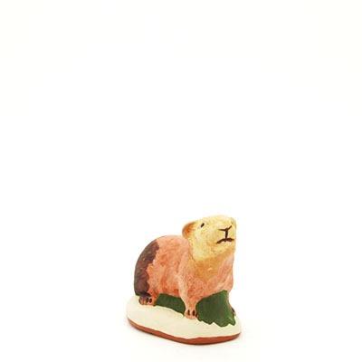 santon de Provence marmotte peint à la main