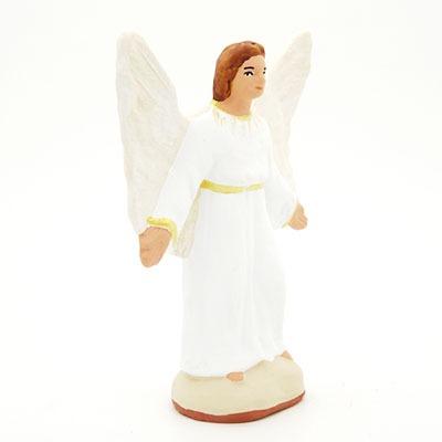 ange santon de provence peint à la main profil
