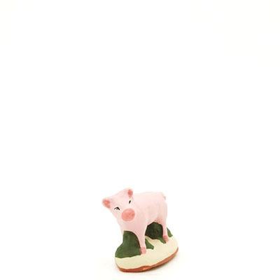 santon de provence peint a la main cochon