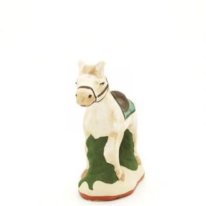 santon de provence peint a la main cheval 2