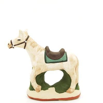santon de provence peint a la main cheval 2 profil 1
