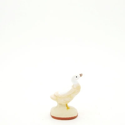 santon de Provence peint à la main canard