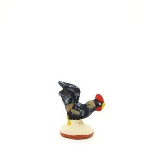 santon de Provence peint à la main coq