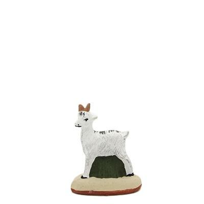 santon de Provence peint à la main bébé chèvre
