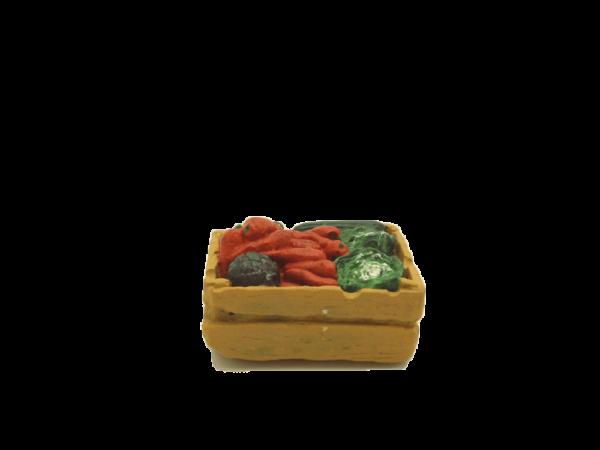 Cagette salades et carottes