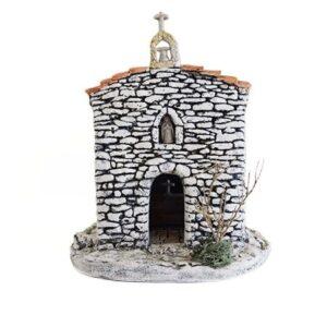 Décors de crèche de Provence chapelle 1