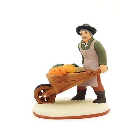 santon-peint-paysan-brouette