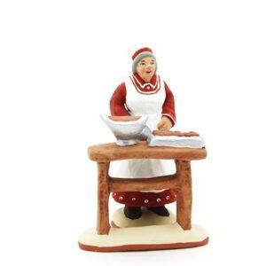 santon de provence peint à la main chocolatière