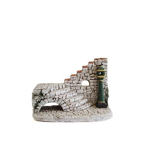 Escalier decors de creche de provence