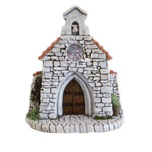 Décors de crèche de Provence Chapelle façade