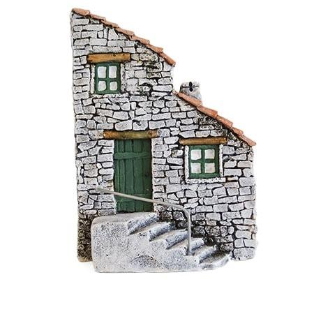 Décors de crèche de Provence Façade de maison