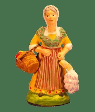 Femme à l'ail