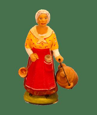 Femme bassinoire