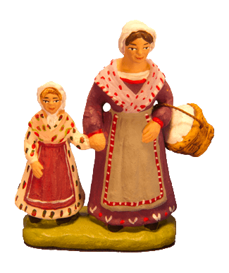 Femme et sa fille
