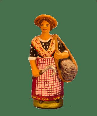 Femme lavande