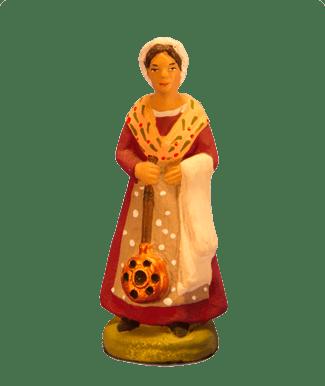 Femme chaufferette