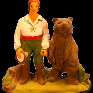 Homme à l'ours