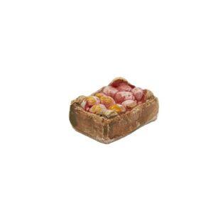 Mini-cagette de pommes Décors de crèche provençale