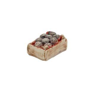 Mini-cagette d'oursins - Décors de crèche provençale
