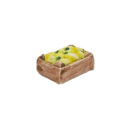 Mini-cagette de citrons Décors de crèche provençale
