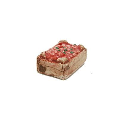 Mini-cagette de fraises Décors de crèche provençale