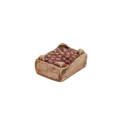 Mini-cagette de marrons Décors de crèche provençale