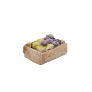 Mini-cagette de figues Décors de crèche provençale