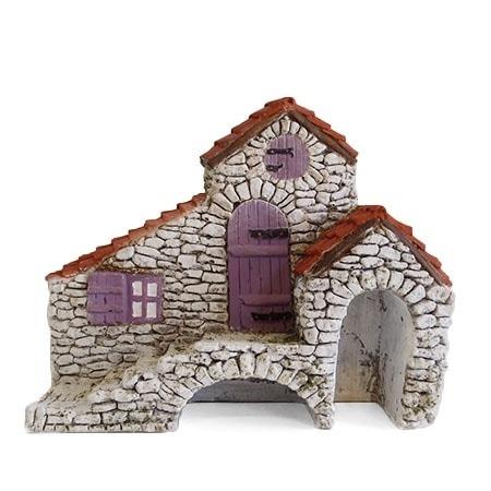 Maison mas provençal décors de crèche de Provence