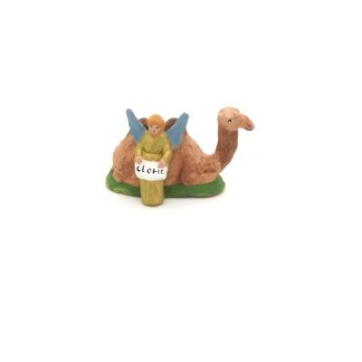 Santon puce de Provence le chameau